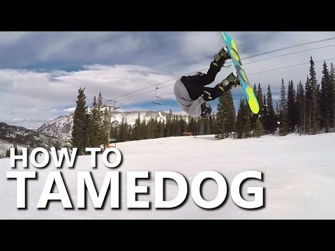 How To Tamedog Front Flip - Snowboarding Trick Tutorial