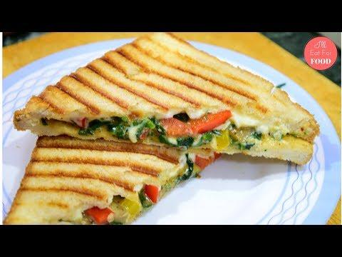 Mushroom Melts Grilled Sandwich │Episode 075│ I'll Eat For Food