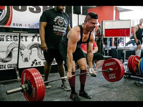 1st Powerlifting meet and Plans for 2016
