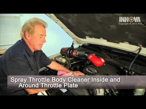How to clean Throttle Body - 2002 Chevy Avalanche