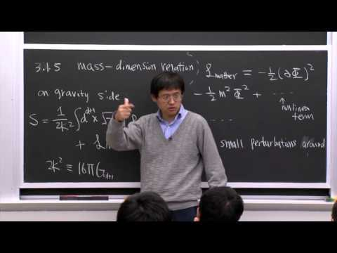 19. Mass-dimension Relation