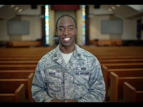 U.S. Air Force: Capt Lamar Reece, Chaplain