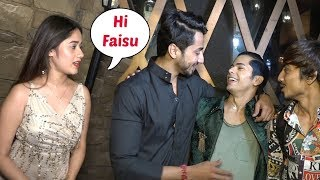 Mr Faisu IGNORES Jannat Zubair At Siddharth Nigam Birthday Party 2019