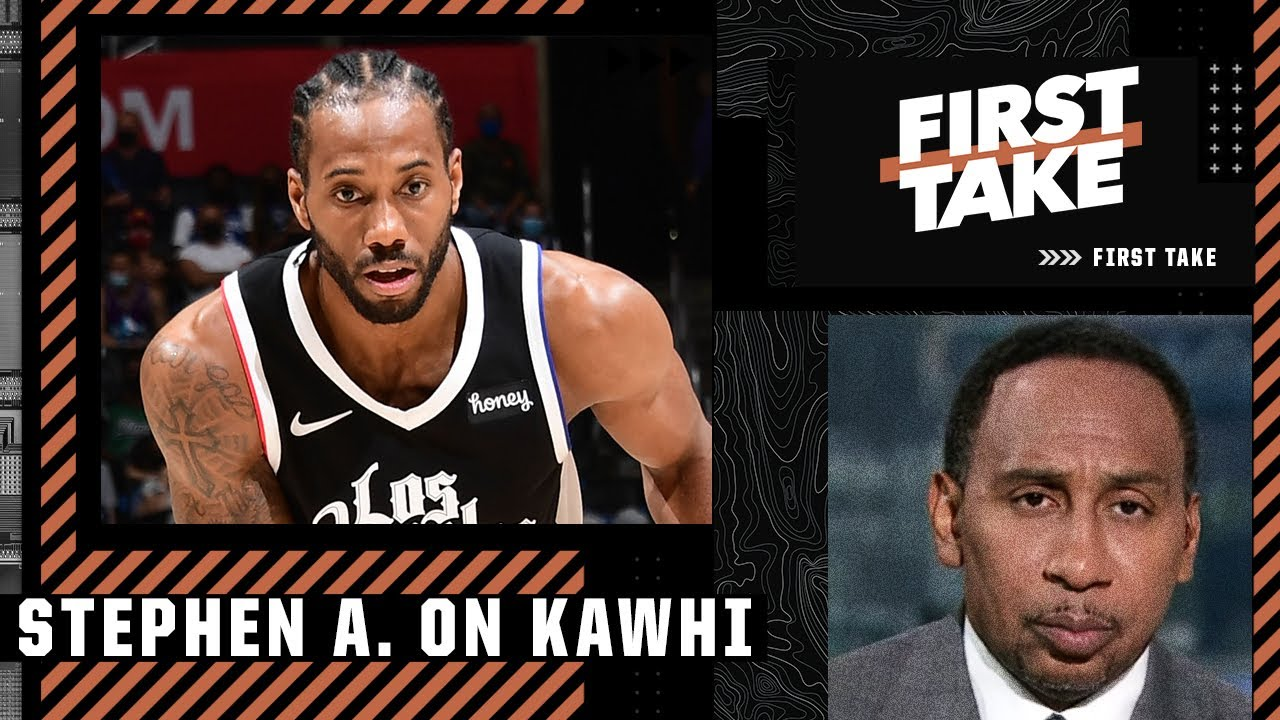 Stephen A has serious concerns about investing in Kawhi Leonard long-term   First Take