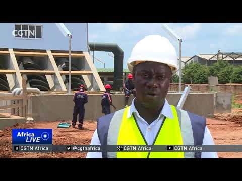 Ugandan government construct sewer plant to reduce pollution