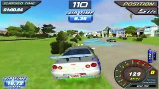 (arcade) Fast and furious gameplay