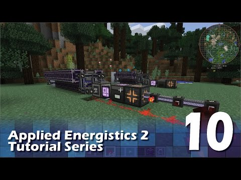Applied Energistics 2 Tutorial #10 - Crystal Automation