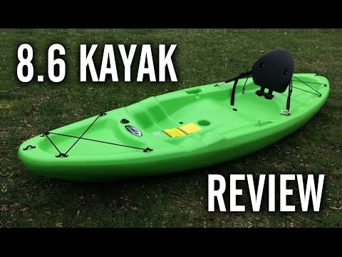 Clearwater Mist / Future Beach Eclipse 8.6 Kayak Review