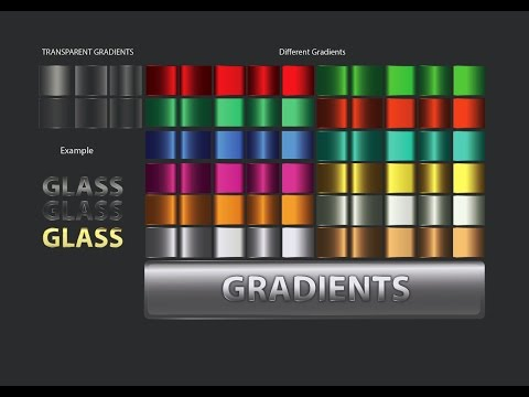 Illustrator Gradients | Creating Gradient in Adobe Illustrator Tutorial