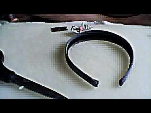 duck tape bow headband