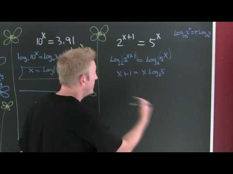 Solving Exponent Equations