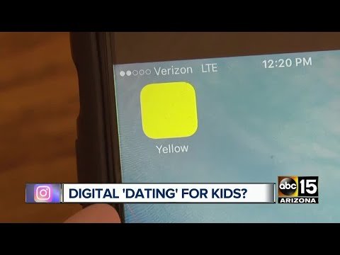 Yellow: New app is the