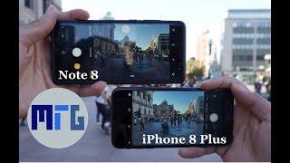 iPhone 8 Plus vs. Samsung Galaxy Note 8 Camera Test & Comparison