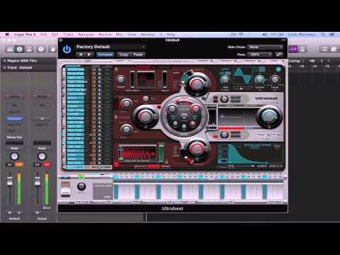 LOGIC PRO X Create Custom Drum Kits in Ultrabeat