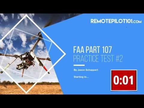 Practice Part 107 Knowledge Test Webinar - Remote Pilot 101