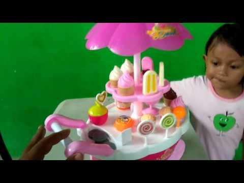 Luxury Candy Cart SWEET  SHOP Ice Cream Lollipop