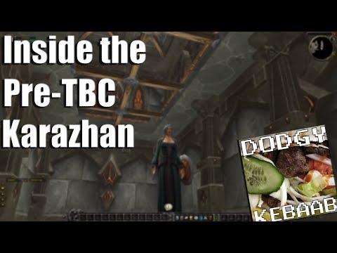 Inside Pre TBC Karazhan - World of Warcraft