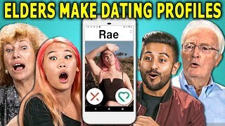 College Kids React To Their Dating Profiles Made By Senior Citizens