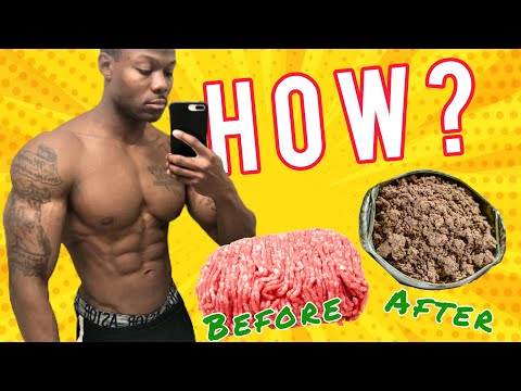 BODYBUILDING MEALS: HOW TO PREP, COOK, & PACKAGE SWEET TASTING GROUND BEEF