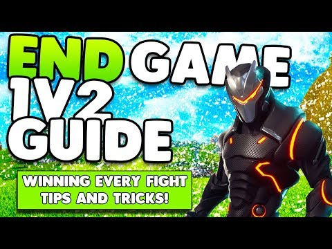 Solo Vs Duo | Endgame Without Teammate Guide | Tips & Tricks | Fortnite Battle Royale