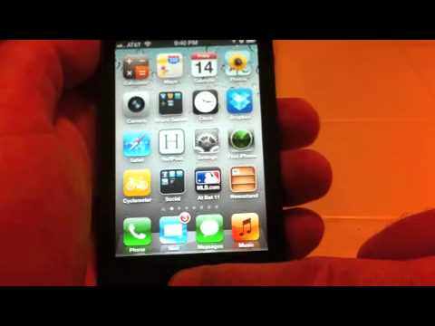 iPhone 4S Siri Demo Part 1