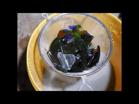 Making 'beach' glass