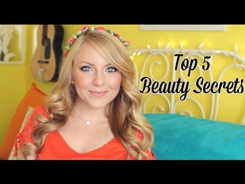 My Top 5 Beauty Secrets!