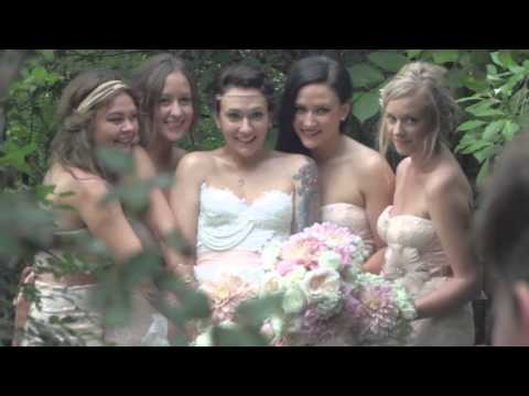 Nickie and Brennans wedding highlights