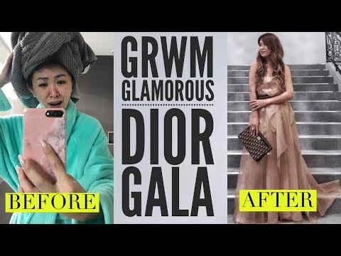 VLOG! GET READY WITH ME   COME TO THE DIOR GALA & EXHIBITION WITH ME!
