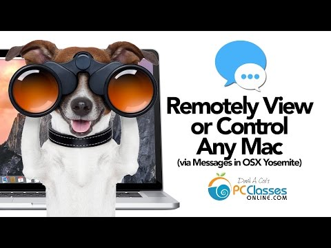 Remotely View OR Control Any Mac [OS X Yosemite Tricks]