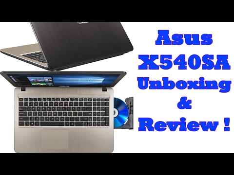 Asus X540SA Unboxing And Review !
