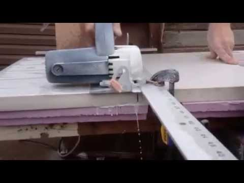 Cutting quartz countertop
