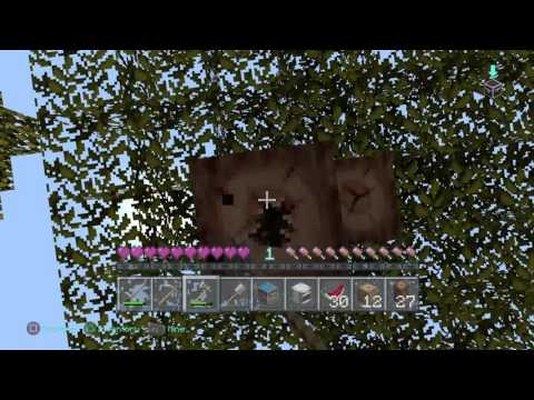 Minecraft PS4 3 Lives Hardcore ep 1: The Beggining