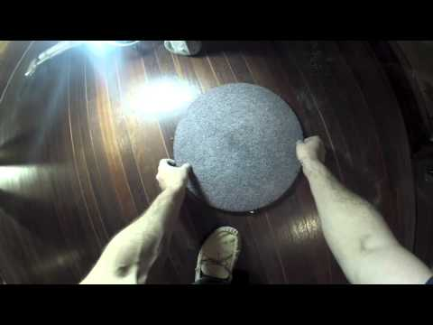 My hardwood floor refinishing techniques