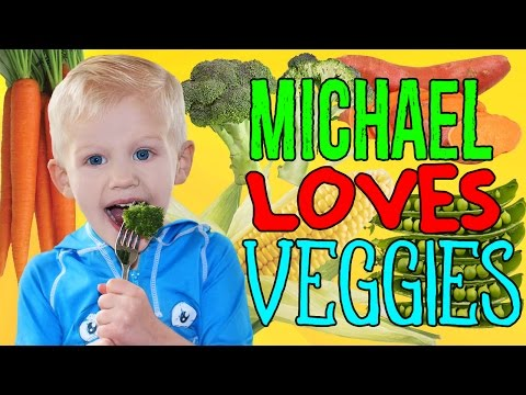 Eat Vegetables Like Michael!