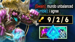 MUNDO Is Not BALANCED! Strongest Jungler In The Game!   League of Legends