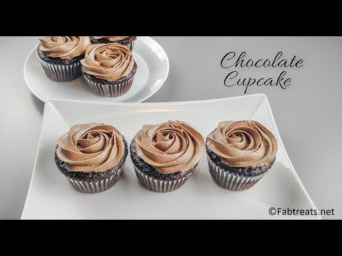 How to make Chocolate Cupcakes / Super Moist Chocolate Cupcakes
