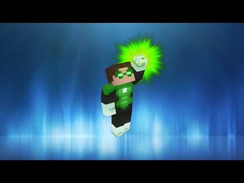 Green Lantern in vanilla Minecraft   ONLY ONE COMMAND BLOCK (1.8)