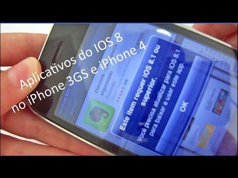 Como rodar aplicativos IOS 8 e 9 no IPhone 4 e iPhone 3GS