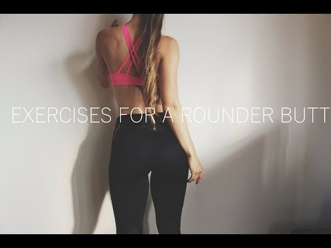 Exercises For A Rounder Butt ❤ Pretty Pilates For Quads, Glutes & Obliques