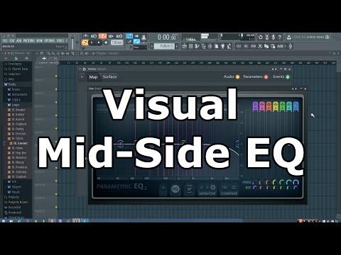 Visual Mid Side EQ Preset for FL Studio