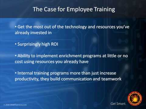 Increasing Employee Productivity with Training Part 1