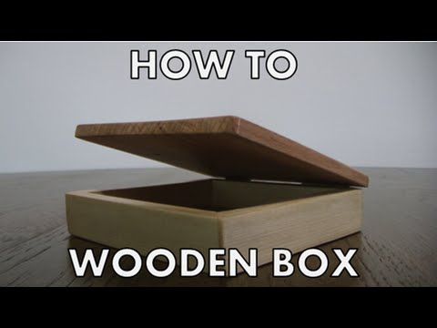 How to make small wooden box EASY, FAST