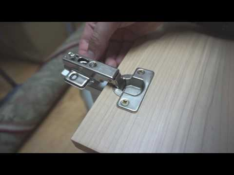 How to install Concealed Cabinet Hinges (35mm Hole creation, Mounting)