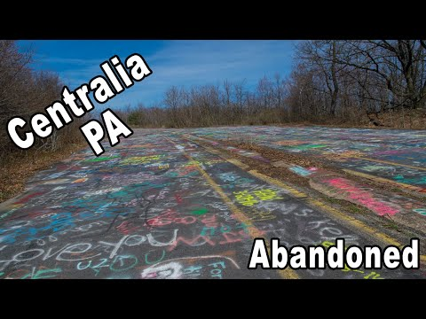 The Best Hour of My Day. Centralia PA Abandon Graffiti highway!