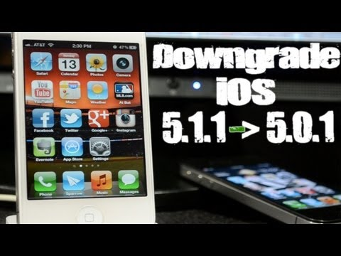 How to Downgrade iPhone 4S & iPad 2 from iOS 5.1.1 to 5.0.1