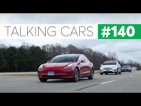 Tesla Model 3 First Impressions   Talking Cars with Consumer Reports #140