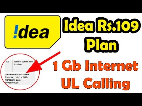 Idea Latest Offer: Idea launches Rs 109 pack with 1GB data, unlimited Calling for prepaid users