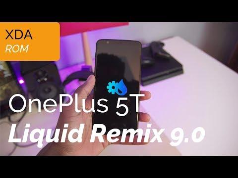 Liquid Remix 9.0 on the OnePlus 5T