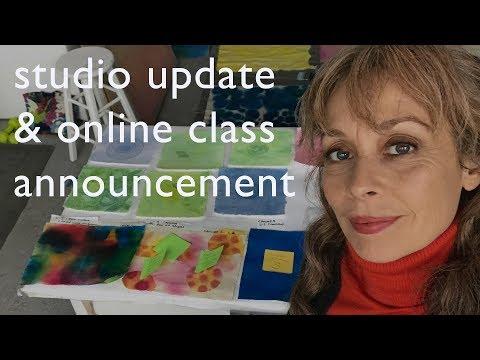 Studio Update May 2018 & New Online Class